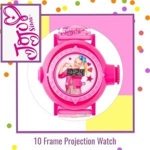 JoJo Siwa Watch + 25 Puff Stickers